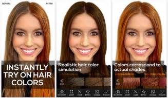 changing hair color app 3 apps to experiment with your hair colour hair