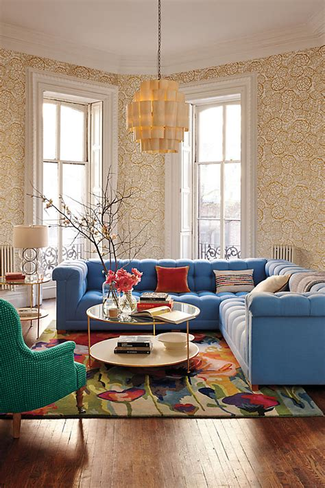 anthropologie inspired living room lacquered coffee table anthropologie