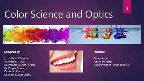 color science color science and optics prosthodontics