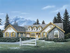 Ranch Country Home Plans by Country Manor Ranch Home Plan 007d 0048 House Plans And More