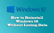 install windows 10 without losing data windows repair archives malware removal pc repair and
