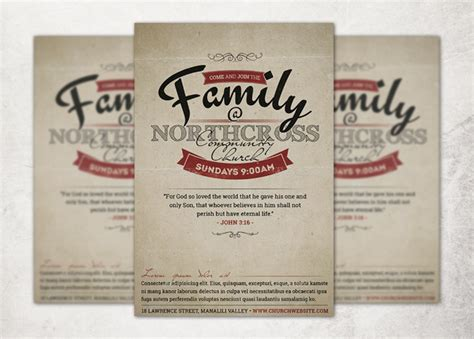church invitation templates invitation to church service flyer pictures to pin on