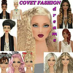 unlock covet fashion hairstyle 1000 images about miss covet makeovers glooart on