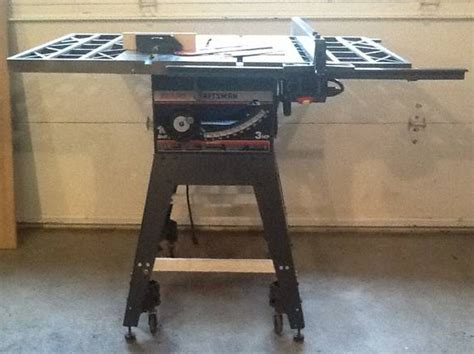 craftsman table saw model 113 craftsman 10 quot 3hp table saw model 113 298761 is it a