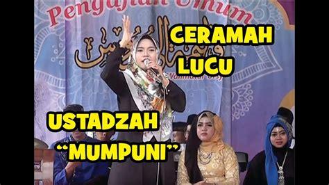 download mp3 gratis ceramah lucu ceramah ngapak lucu ustadzah mumpuni handayayekti youtube