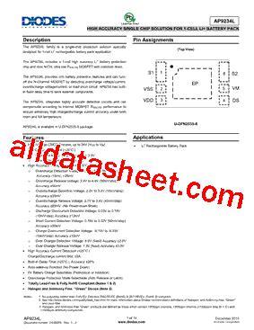 datasheet de la diode ap9234la ao hsb 7 datasheet pdf diodes incorporated