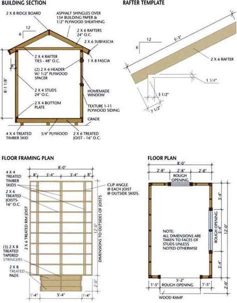wood floor framing plan fernando 10 x 8 pent shed plans gable roof addition details