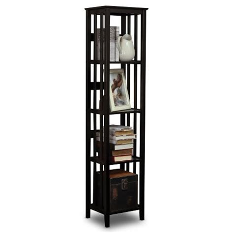 black narrow bookcase black narrow bookcase narrow 5 shelf bookcase in antique