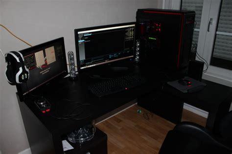pc bureau gamer bureau pour pc gamer le coin gamer