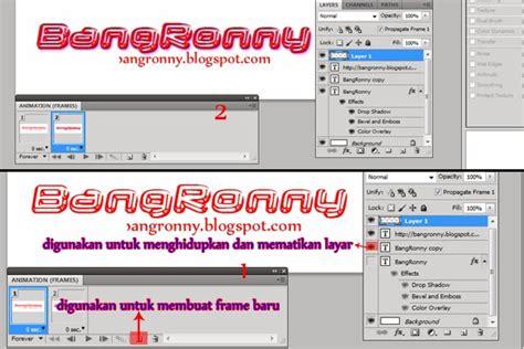 tutorial membuat gambar bergerak dengan photoshop bang ronny tutorial membuat gambar gif atau bergerak