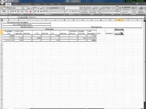 tutorial excel nomina 2012 youtube tutorial para pago de nomina en excel youtube