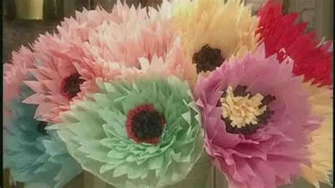 How To Make Paper Flowers Martha Stewart - martha stewart large crepe paper flowers best flowers