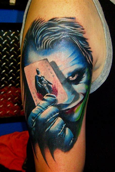 joker tattoo movie best tattoo area joker tattoo