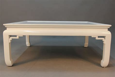 White Coffee Table For Sale White Lacquered Asian Coffee Table For Sale At 1stdibs