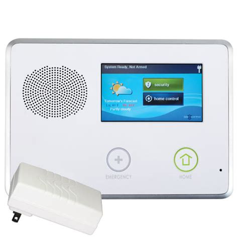 2gig gocontrol security home automation panel
