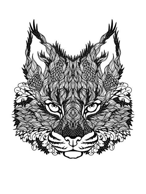 abstract lion coloring pages abstract cat printable coloring page coloring home