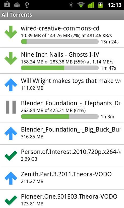 android torrenting site android central editors app picks for nov 19 2011 android central