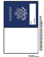 passport template for printable july 2008 guesthollow s blogguesthollow s