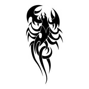 Scorpion Tribal Outline by Alacr 225 N G 243 Tico Tatuajes 123