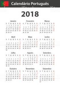 Calendario 2018 Portugues Calend 225 Portugu 234 S Para 2018 Modelo De Agendador Agenda