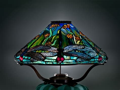 louis comfort tiffany dragonfly l press center corning museum of glass