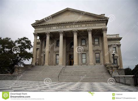 united states custom house united states customs house stock photo image 17690340