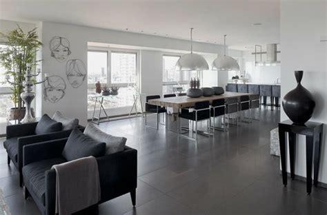 Interior Design Wohnzimmer Bilder by Wohnzimmer Fliesen Grau Wohnung Einrichten Wohnzimmer Grau