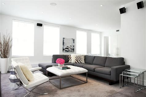 Glamorous Grey Sectional Couch vogue New York Contemporary Living Room Inspiration with brown