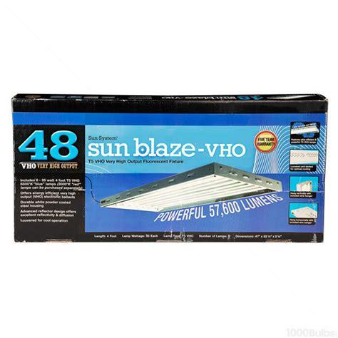 Sun Blaze 960375 Fluorescent Grow Light Fixture