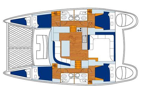 catamaran boat layout lagoon 440 for hire r 233 gis guillemot charter catamaran