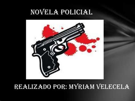 corrupcin policial novela policaca novela policiaca