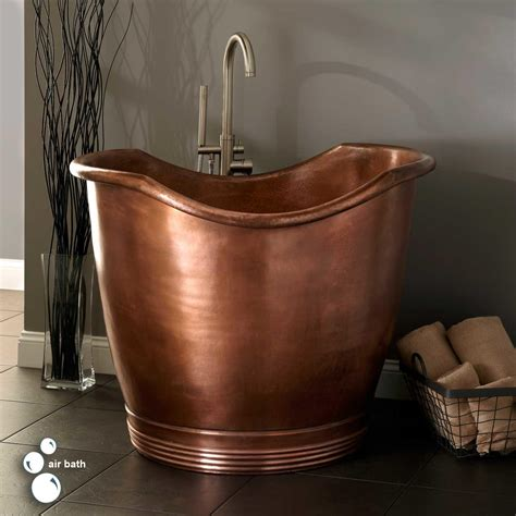 Japanese Style Bathtubs by 41 Quot Teramo Copper Japanese Soaking Air Tub No Overflow