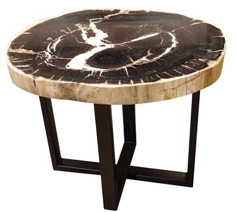 petrified wood end table balsamo antiques petrified wood side table
