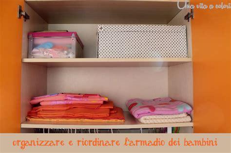 organizzare l armadio organizzare l armadio dei bambini