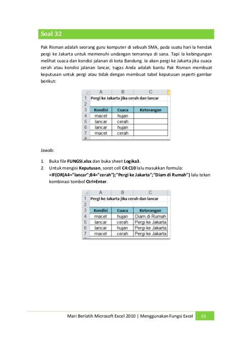 Ebook 60 Fungsi ebook belajar excel 2010