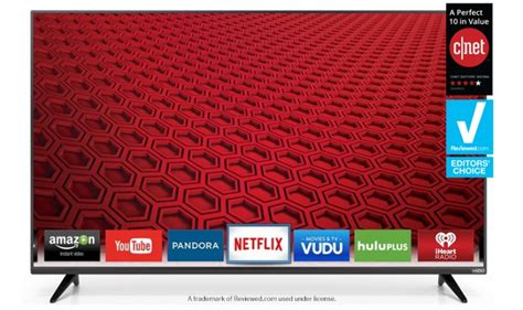 visio smart tv vizio e series 50 class array led smart tv e50 c1