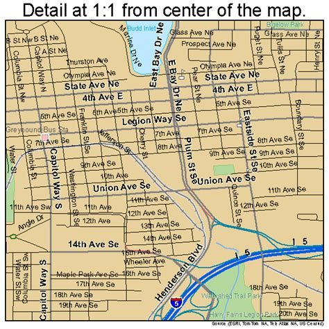 olympia washington map related keywords suggestions for olympia map