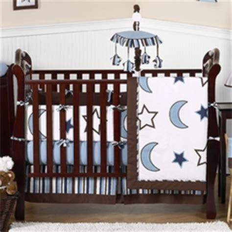 moon and crib bedding set moon and celestial baby bedding sets