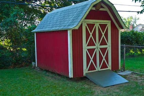 build  shed ramp backyard shed ideas pinterest