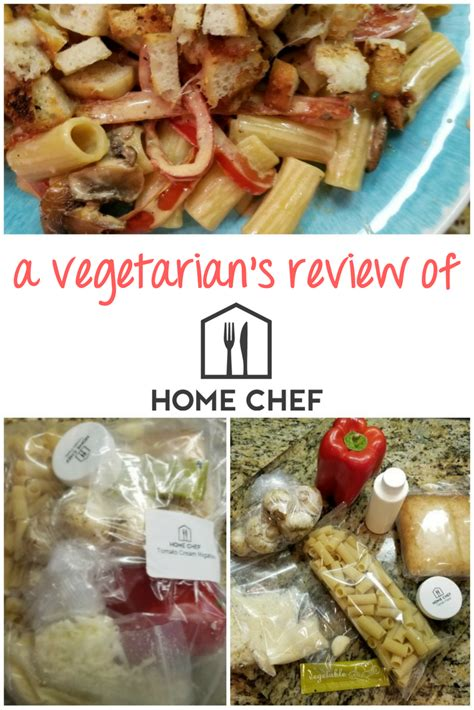 a vegetarian s review of home chef caffeine and saltwater