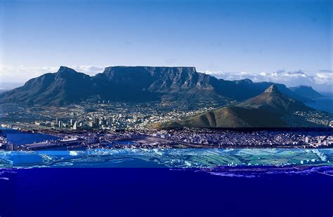 Table Top Mountain South Africa by What A Wonderful World Table Mountain