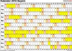 Kalender 2018 Bayern Halbjahr Kalender 2018 Bayern Ferien Feiertage Pdf Vorlagen