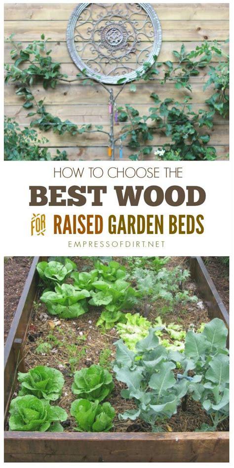 best wood for raised beds best raised garden beds