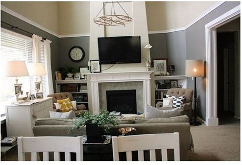 pottery barn living rooms colors clever use of trim