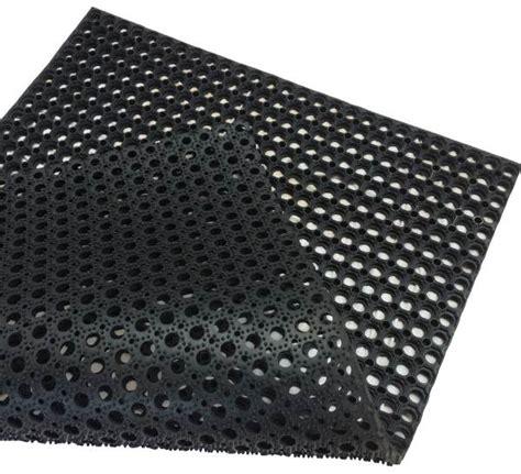 anti slip hollow rubber mat matting floor flooring water