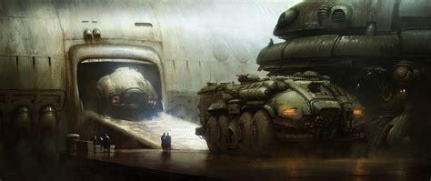 military transport vehicles marcin jakubowski concept art world