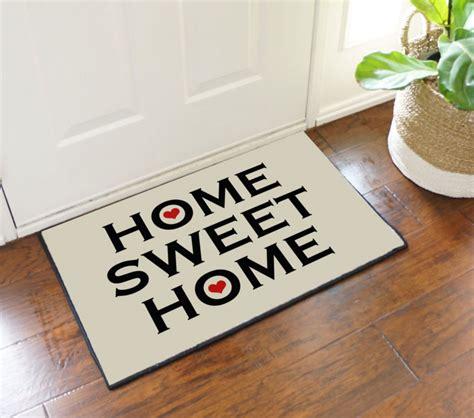 House Mat Home Sweet Home Welcome Door Mat Floormatshop
