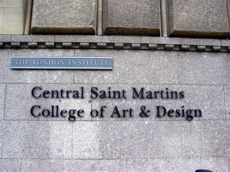 central saint martins school of art and design