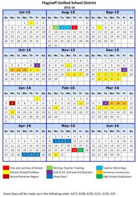 Chicago Booth Academic Calendar Fusd Adopts 2015 16 Calendar Education Azdailysun