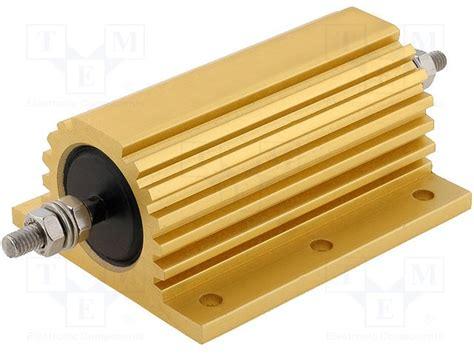 wirewound resistor heat sink wire wound resistor heat sink 28 images small size 1 ohm 10 watt resistor gold heat sink